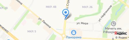 Продукты на карте Альметьевска
