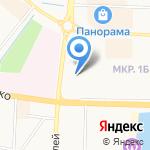 Автоградбанк на карте Альметьевска