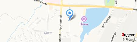 Охотный Ряд Плюс на карте Альметьевска