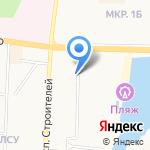 Светофор на карте Альметьевска