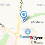 Альметьевская Епархия на карте Альметьевска
