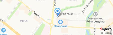 Казанский кафедральный собор на карте Альметьевска