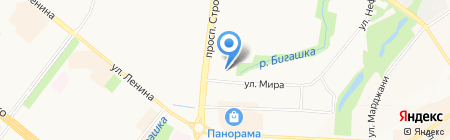 Талисман на карте Альметьевска