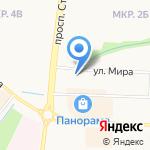 Мастерская по ремонту обуви и изготовлению ключей на карте Альметьевска