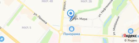 Форсман чай на карте Альметьевска