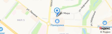 Инесса на карте Альметьевска
