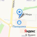 Эдель на карте Альметьевска