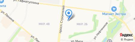 Овощная лавка на проспекте Строителей на карте Альметьевска