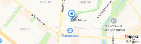 Акционерный капитал на карте Альметьевска