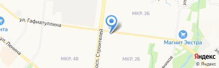 Зоомагазин на карте Альметьевска