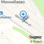 Основная общеобразовательная школа станции Миннибаево на карте Альметьевска