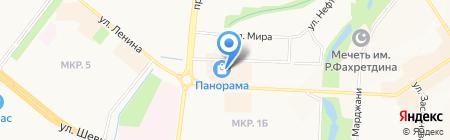 Макей на карте Альметьевска