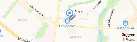 Мармелад на карте Альметьевска