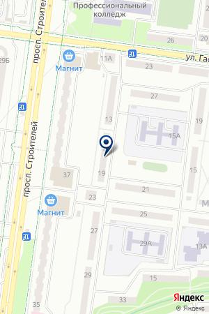 ПАРИКМАХЕРСККАЯ ТЕМП на карте Альметьевска
