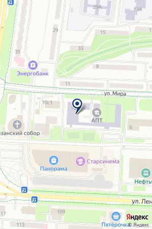 СТРОИТЕЛЬНАЯ КОМПАНИЯ ОРИМЕКС СУВАР на карте Альметьевска