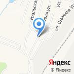 Продовольственный магазин на карте Альметьевска