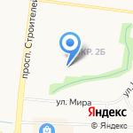 Гуси-лебеди на карте Альметьевска