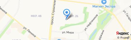 Детский сад №40 Гуси-лебеди на карте Альметьевска