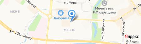 Implozia на карте Альметьевска