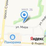 Девятка на карте Альметьевска