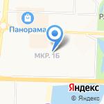 Библиотека №4 на карте Альметьевска