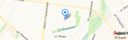 Всё для дома и сада на карте Альметьевска