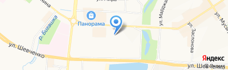 Совет территориального общественного самоуправления на карте Альметьевска