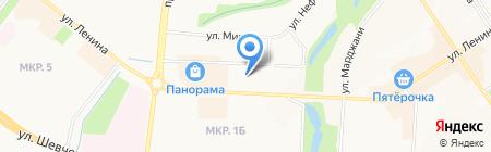 Альметьевск РТВ на карте Альметьевска