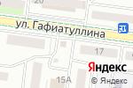 Схема проезда до компании Идель в Альметьевске