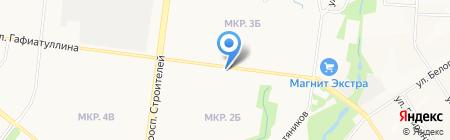 Пивной бар на карте Альметьевска