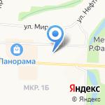 Нефтьче на карте Альметьевска