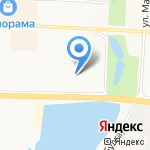 Малыш на карте Альметьевска