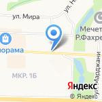Гран При на карте Альметьевска