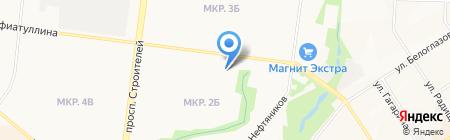 Детский сад №39 Золотой петушок на карте Альметьевска