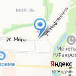 Урал на карте Альметьевска
