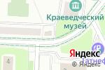 Схема проезда до компании Урал в Альметьевске