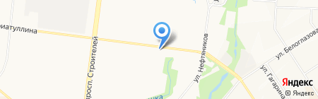 Ривьера на карте Альметьевска