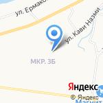 Вечерняя (сменная) общеобразовательная школа №1 на карте Альметьевска