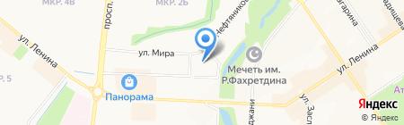 Фабрик на карте Альметьевска