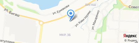 Детский сад №53 Светофорик на карте Альметьевска