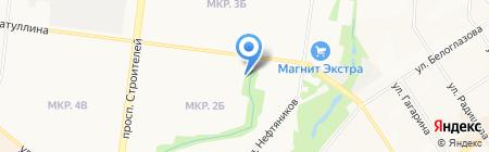 Библиотека №3 на карте Альметьевска