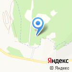 Сосновый Бор на карте Альметьевска