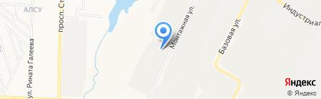 Акмаль-сервис на карте Альметьевска