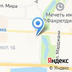 Платежный терминал на карте Альметьевска