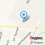 Техцентр на Монтажной на карте Альметьевска