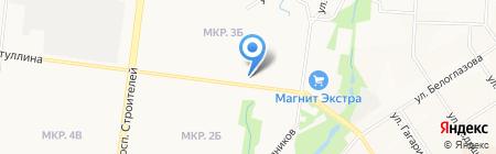 Сеть платежных терминалов СБЕРБАНК РОССИИ на карте Альметьевска