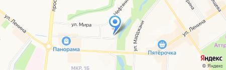 Чайхана №1 на карте Альметьевска
