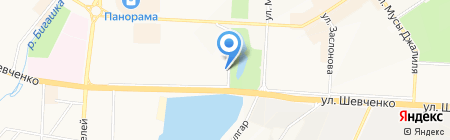 Аппарат мировых судей г. Альметьевска на карте Альметьевска