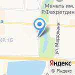 АНЭКС на карте Альметьевска