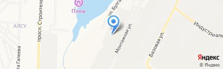 Автозапчасти на карте Альметьевска